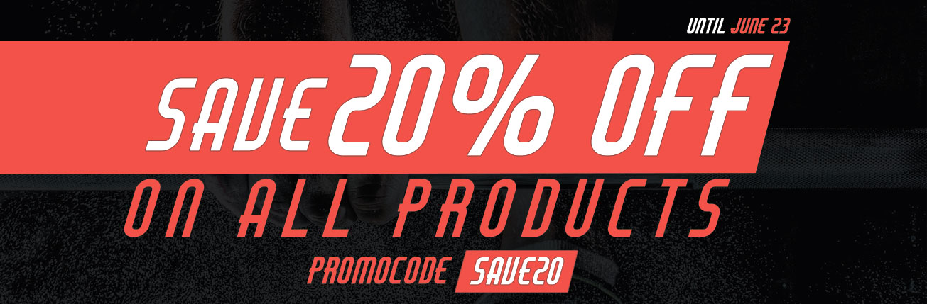 20 Discount on All Products